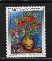 Monaco Timbres Neuf ** De 1976   N° 1056   Tableaux - Monaco