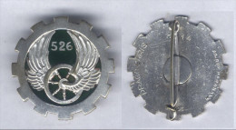 Insigne Du 526e Groupe De Transport - Armée De Terre