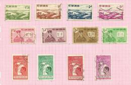 Vietnam Du Sud N°169 à 180 Cote 2.70 Euros - Vietnam