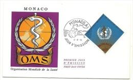 1968 - Monaco 769 O.M.S. - Fdc, - WHO