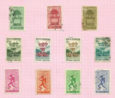 Vietnam Du Sud N°181 à 191 Cote 2.85 Euros - Vietnam