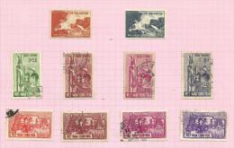 Vietnam Du Sud N°204 à 213 Cote 2.30 Euros - Vietnam