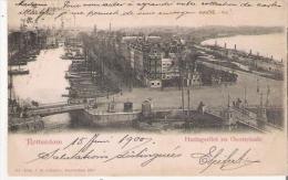 ROTTERDAM 313 HARINGSSVLIET EN OOSTERKADE 1900 - Rotterdam