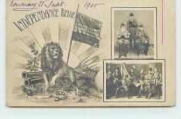 INDEPENDANCE BELGE - 75eme Anniversaire 1830/1905. - Belgium