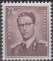 ZEGEL MET KLEVERTJE  à 15%  OCB  1070   ----=  32.75 - 1953-1972 Glasses