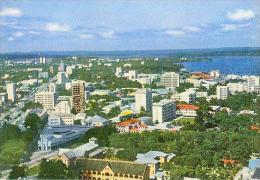 CP.   LEOPOLDVILLE.  CENTRE  VILLE.  VUE  AERIENNE - Kinshasa - Léopoldville