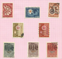 Vietnam Du Sud N°256 à 263 Cote 1.65 Euros - Vietnam