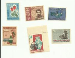 Vietnam Du Sud N°273, 304, 308, 310, 314, 315, 319 Neufs** Cote 2.85 Euros - Vietnam