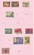 Vietnam Du Sud N°305 à 307, 309, 311 à 313, 316 à 318 Cote 4.30 Euros - Vietnam