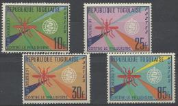 TOGO - 1962 Malaria Eradication. Scott 428-431. Mint Hinged * - Togo (1960-...)