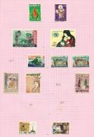Vietnam Du Sud N°339 à 342, 344 à 348, 350, 353, 354 Cote 4.35 Euros - Vietnam