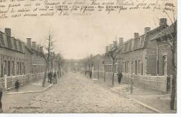 LIÉVIN  Cité Calonne. Rue D'Alembert (état. Carte Décollée D'1 Cahier. Tres Propre) - Lievin