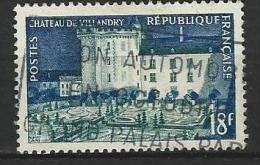 """FR YT 995 """" Chateau De Villandry """" 1954 Oblitéré - Usati"""