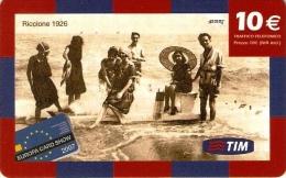 *ITALIA - TIM: EUROPA CARD SHOW 2007* - Ricarica Usata