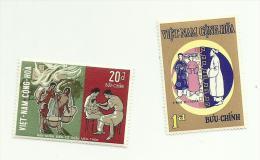 Vietnam Du Sud N°365, 374, 377 Neufs** Cote 1.50 Euros - Vietnam