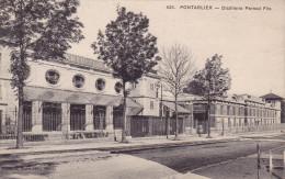 25 - Pontarlier - Distillerie Pernod  Fils - Tbon état - Pontarlier