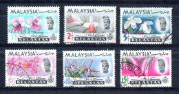 Kelantan - 1965 - Orchids (Part Set) - Used - Kelantan