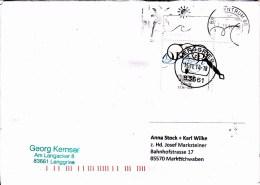 Brief Von 83661 Lenggries + Briefzentrum 80 Mit 90 Cent Christoph Willibald Gluck Eckrandstück 2014 - BRD