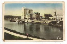 02 - SOISSONS - Les Bords De L'Aisne - St Wast, Le Silo - éd. CAP N° 79 Colorisée - Soissons