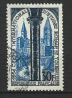 """FR YT 986 """" Eglise Saint-Philibert """" 1954 Oblitéré - Usati"""