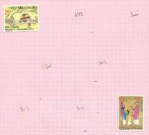 Vietnam Du Sud N°498, 505 Neufs Avec Charnières* Cote 2.30 Euros - Vietnam