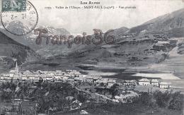 (04) Vallée De L'Ubaye - Saint-Paul (1470 M) - Vue Générale - 2 SCANS - Autres Communes