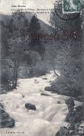 (04) Vallée De L'Ubaye - Environs De Lauzet - Route De Barcelonnette - Cascade De La Scierie - 2 SCANS - Altri Comuni