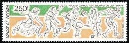 WALLIS ET FUTUNA 1991 - Yv. PA 171 ** SUP  Faciale= 2,10 EUR - Roland Garros : Tennis ..Réf.W&F21614 - Luftpost