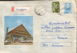 "Romania - Postal Stationery Envelope  1976 Circulated - Sovata - Inn ""Black Bear"" - Postal Stationery"