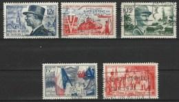 """FR YT 982 à 984 996 997 """" Militaires """" 1954 Oblitéré - Usati"""