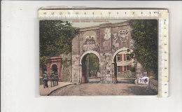 PO9345C# GIBRALTAR - GIBILTERRA - SOUTHPORT GATE - Acquerellata No VG - Gibilterra