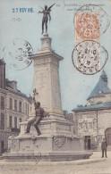 13191# BLANC / CARTE POSTALE TARIF IMPRIME Obl TROYES AUBE 1909 Pour ANGRA TERCEIRA ACORES PORTUGAL - Marcophilie (Lettres)