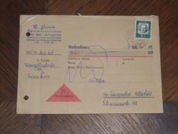 196..  5802 Wetter Ruhr - Wuppertal Nachnahme Brief Cover Germany Gerichtsvollzieher - [7] Federal Republic