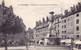 25 - Besançon - Fontaine De L 'état Major - - Besancon