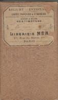 CARTE ENVIRON DE PARIS  RELIURE LIVRAIRIE MEA PARIS - Sin Clasificación