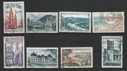"""FR YT 975 à 981 985 """" Sites , Monuments """" 1954 Oblitéré - Usati"""