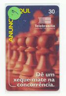 ECHECS Jeu SCHAKEN Sport Chess Scacchi Schach Ajedrez Sur Telecarte Brasil (6) - Sport