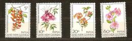 Papouasie Et Nouvelle-Guinée Papoea 1966 Yvertn° 101-04 *** MNH   Cote 4 Euro Flore - Papouasie-Nouvelle-Guinée