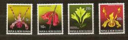 Papouasie Et Nouvelle-Guinée Papua 1969 Yvertn° 160-63 *** MNH   Cote 6,50 Euro Flore Bloemen - Papouasie-Nouvelle-Guinée