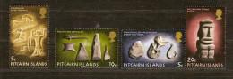 Pitcairn 1971 Yvertn° 118-21 (*) MLH Cote 16,50 Euro - Pitcairn