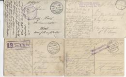 5 CP En Feldpost 1915-16-17 PR1508 - WW I