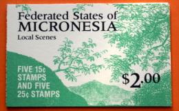 Micronesia #38b Booklet Comp Mnh Cv $7.50 - Micronesia