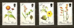 Pitcairn Islands 1970 Yvertn° 109-12 *** MNH Cote 10 Euro Flore Bloemen Flowers - Timbres