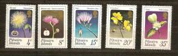 Pitcairn Islands 1973 Yvertn° 128-32 *** MNH Cote 20 Euro  Flore Bloemen Flowers - Timbres