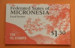 Micronesia #33a Booklet Comp Mnh Cv $6.00 - Micronesia