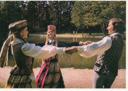 LITHUANIA  Folk Round Dance - Unesco Cultural Heritage - Lituania