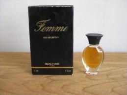 MINIATURE DE PARFUM FEMME  DE ROCHAS  EAU DE PARFUM 3 ML. - Miniatures Modernes (à Partir De 1961)