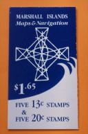 Marshall Islands #42b Booklet Comp Mnh Cv $8.50 - Marshall