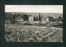 CPSM PF - Couches Les Mines (71) - Chateau De Marguerite De Bourgogne ( Ed. De Bourgogne ) - France
