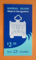 Marshall Islands #42a Booklet Comp Mnh Cv $9.50 - Marshall